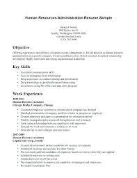 Sample Resume For Hr Keralapscgov