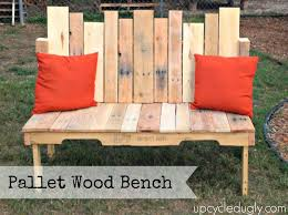 pallet outdoor bench diy. Build Repurposed Wood Pallet Bench DIY Project Homesteading - The Homestead Survival .Com | Great Pinterest Diy, Outdoor Diy