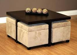 coffee table with stools gorgeous round coffee table with stools underneath with best coffee table with