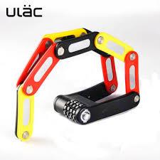 ULAC <b>4</b> Digit Combination Password <b>Bicycle Lock Anti</b>-<b>theft</b> Security ...