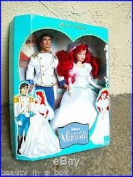 Small Picture Ariel Prince Eric Wedding Theme Park Little Mermaid Disney Doll