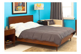 Mid Century Modern Bedroom Midcentury Modern King Bed Beds Bedroom By Urbangreen