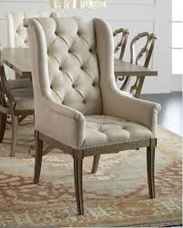 upholstered dining chair bernhardt gant hostess chair from horchow