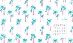 July 2019 Calendar With Desktop ...