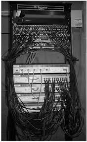 backbone network architectures data communications and networking an mdf rack mounted equipment a layer 2 chassis switch six