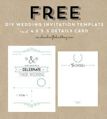 Free Downloadable Wedding Invitation Templates Wedding Invitation Templates Free Download Free Invitation Ideas 5