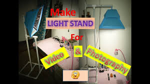 Photography Light Stand Diy How To Make Diy Studio Light Stand For Video And Photography In Very Low Cost