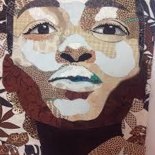 TAFA: The Textile and Fiber Art List | Black History & Deborah Grayson Face Quilt black history month Adamdwight.com