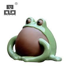 <b>TANGPIN</b> green frog purple clay <b>coffee and tea</b> tools ceramic <b>tea</b> ...