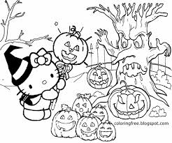 Cute Halloween Coloring Pages For Kids Cute Halloween Coloring Pages For Kids At Getdrawings Com