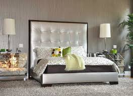 Modern Bedroom Rugs Bedroom Modern Mirrored Nightstand Design With Beds And Rugs For