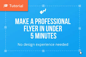 How To Do Flyers Create A Professional Looking Flyer In Under 10 Minutes No Design