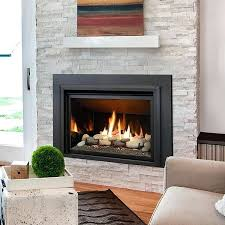 gas inserts for fireplace the gas fireplace insert can be ordered with either a log set gas inserts for fireplace
