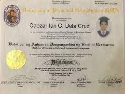 caezar ian dela cruz bayt com at university of perpetual help manila