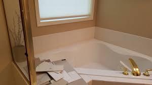 help replacing corner tub