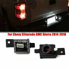 2018 Silverado License Plate Light Bulb Auto Parts Accessories For 2014 2018 Chevy Silverado Gmc