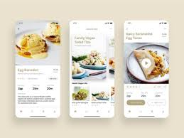 App Design Dribble Good Food Recipes Mobile App Ui Design By Ui Place On Dribbble