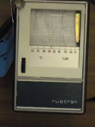 Rustrak Chart Recorder Details About Rustrak Temperature And Humidity Strip Chart Recorder