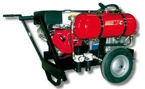 compresor de aire de gasolina. equipo de aire a presion con motor gasolina mpc compresor p
