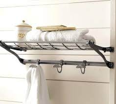 pottery barn hooks awesome bathroom train rack pottery barn at pottery barn wall shelf hooks