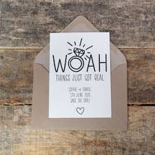 Save The Date For Wedding Personalised Funny Save The Dates Save The Date Cards Wedding Invitation Woah Save The Date