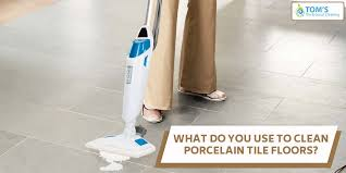 what do you use to clean porcelain tile floors