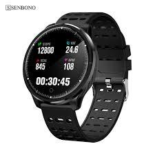<b>SENBONO IP68 Waterproof</b> Smart Watch P71 Heart Rate Blood ...