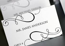 Printable Name Place Cards For Weddings Download Them Or Print