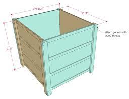 step 3 assemble the planter boxes