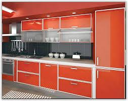 photos of aluminum doors kitchen cabinets