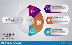 Chart Presentation Images Business Infographics Template For Diagram Graph