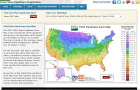 new usda plant hardiness zone map