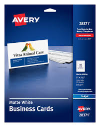 Avery Business Card Templates Template 5371 Luxury 8371 Condo