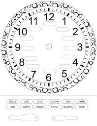 Telling Time In Spanish Worksheets Pdf Worksheets for all ...