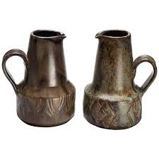 Decorative Pitchers Set of Two Danish Modern Decorative Pitchers For Sale at 60stdibs 32