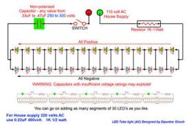 circuit inside led tube ledtube step 1 this circuit diagram use a capacitor resistor