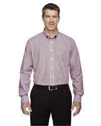 Devon Jones D645 Mens Crown Collection Banker Stripe Shirt
