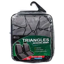 sperling triangles jacquard jersey car