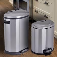 Black Kitchen Trash Cans Kitchen Decor Stainless Steel Trash Can Kitchen Walmart