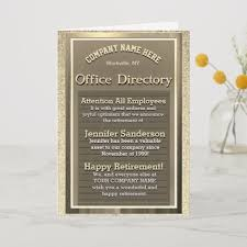 Gold Card Office Vintage Gold Retirement Sign Office Humour Card