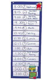 Carson Dellosa Scheduling Pocket Chart Amazon Com Carson Dellosa Cd5615 Scheduling Pocket Chart