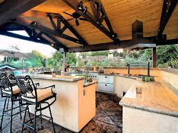 Plans For Outdoor Kitchens Outdoor Kitchen Plans Home Design Ideas
