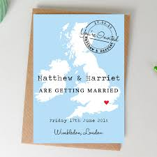 Map Wedding Invitations Marina Gallery Fine Art