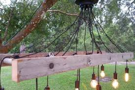 outdoor antique farmhouse ladder chandelier with vintage bulbs pendant lighting edison how to hang