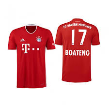 Teamed up with santa david alaba to surprise the kids in berlin, munich and vienna 🎅🏽 merry xmas to all of you and we hope you get well soon! Nike Bayern Munich Jerome Boateng 2020 21 Home Official Kids Jersey Red Football Jerseys Shop