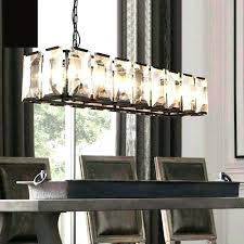 rustic modern rectangular chandelier inch crystal antique awesome large chand