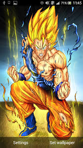 super saiyan live wallpaper android apps games on brothersoft 576x1024