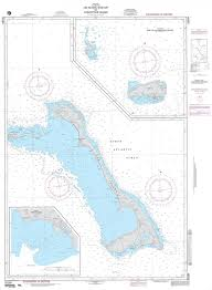 Nga Nautical Chart 26284 Cat Island Rum Cay And Conception Island Panels A Cat Island