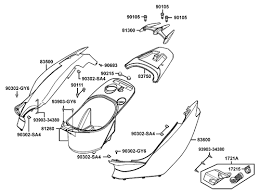 kymco scooter ksfbclba body cover and luggage box part parts diagram info here are the complete 2003 kymco super 9 50cc scooter parts diagrams in pdf format you can parts diagrams for your kymco scooter
