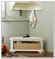 Corner Entry Bench Coat Rack Amazing Design Of Corner Entryway Bench Homesfeed Intended For 37
